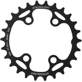 STRONGLIGHT MTB Shimano 2x11 Chainring For XT FC-M8000 / SLX inside black